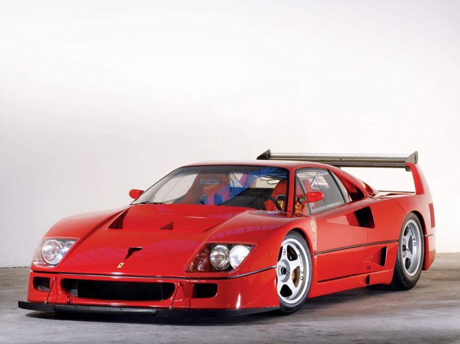 1989 Ferrari F40 LM supercar l,m g wallpaper