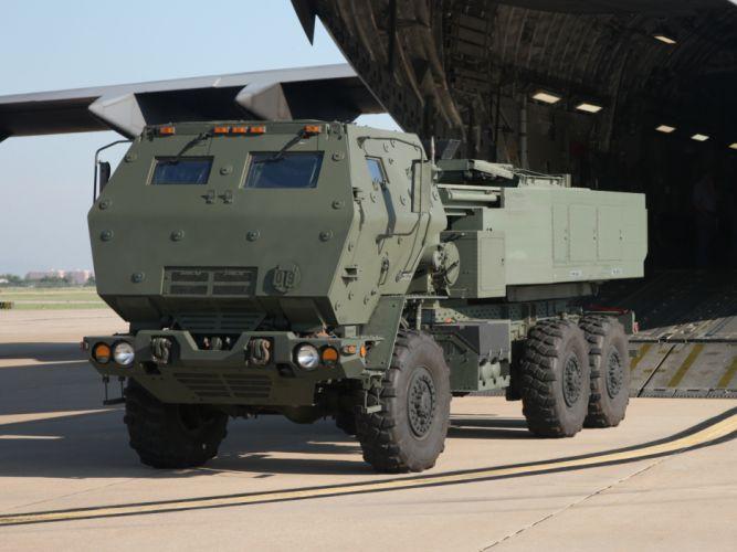 2004 Lockheed Martin HIMARS 6x6 military semi tractor g wallpaper