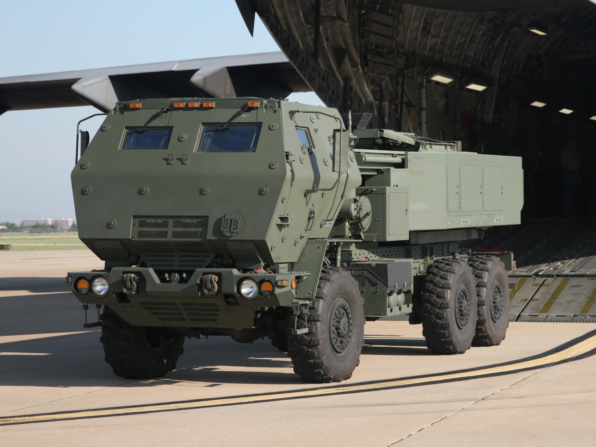 2004 Lockheed Martin Himars 6x6 Military Semi Tractor G