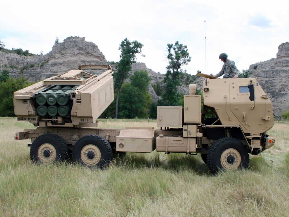 2004 Lockheed Martin HIMARS 6x6 military semi tractor missile launcher      g wallpaper