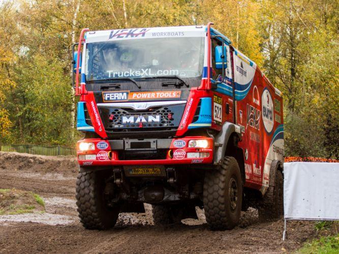 2007 MAN TGS Rally Truck dakar 4x4 offroad race racing g wallpaper