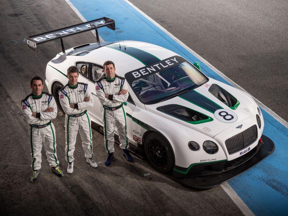 2013 Bentley Continental GT3 race racing supercar  r wallpaper