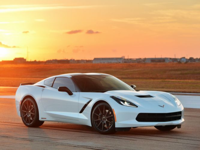2013 Hennessey Corvette Stingray HPE500 (C-7) supercar muscle g wallpaper
