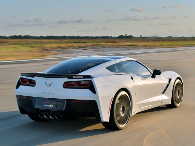 2013 Hennessey Corvette Stingray HPE500 (C-7) supercar muscle r wallpaper