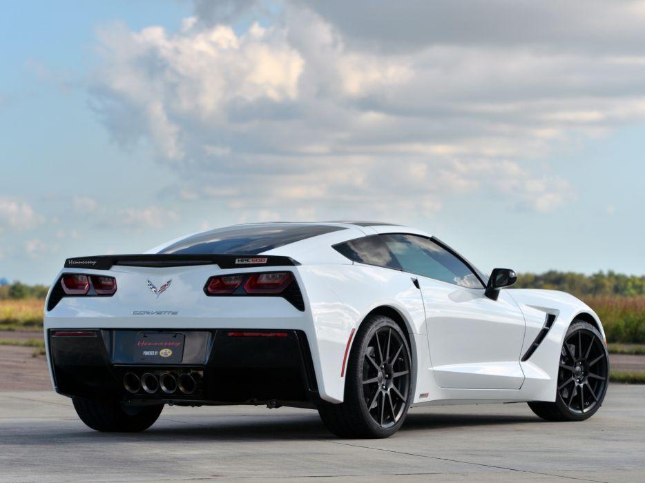 2013 Hennessey Corvette Stingray HPE500 (C-7) supercar muscle   tt wallpaper