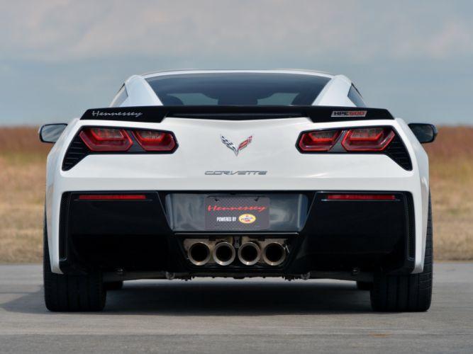 2013 Hennessey Corvette Stingray HPE500 (C-7) supercar muscle f wallpaper