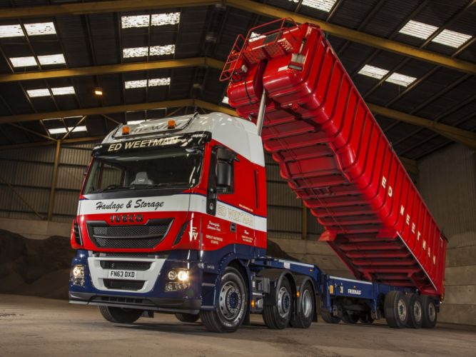 2014 Iveco Stralis Hi-Way 460 6x2 UK-spec semi tractor d wallpaper