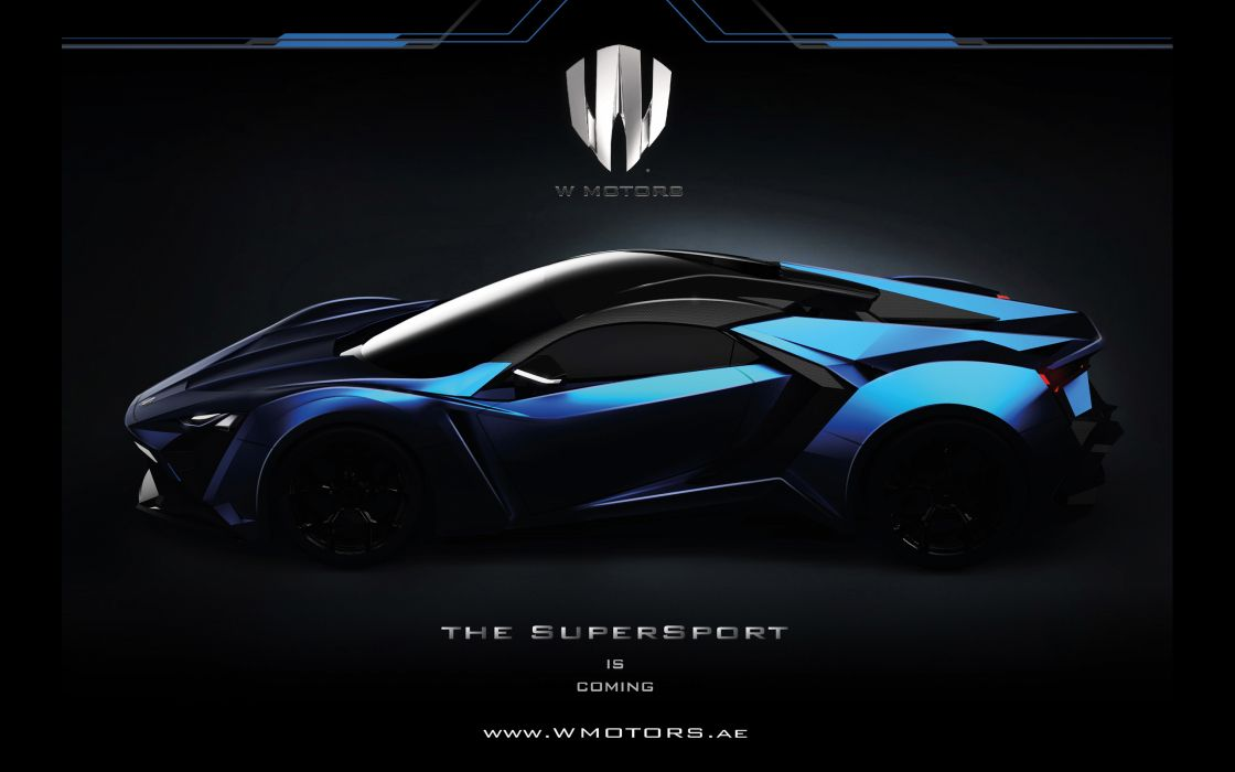 2015 W-Motors Lykan SuperSport supercar      g wallpaper