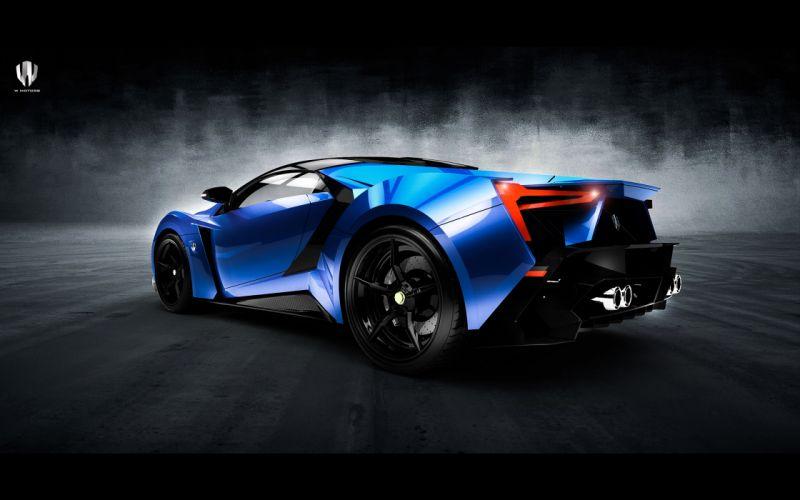 2015 W-Motors Lykan SuperSport supercar r wallpaper