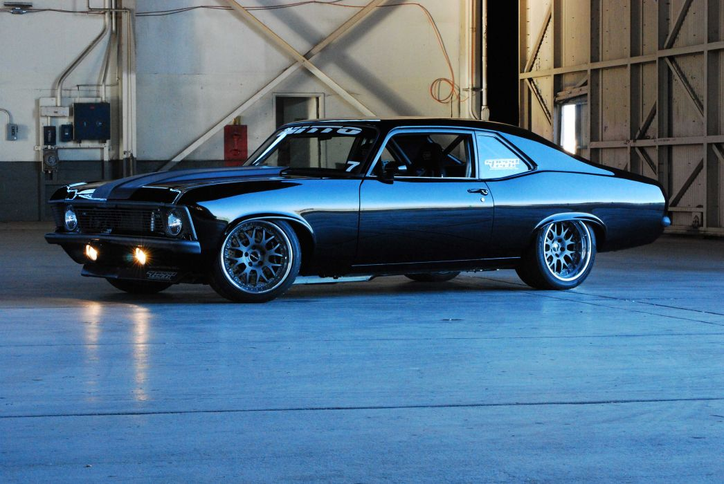 hot rod rods chevrolet nova 1972 w wallpaper