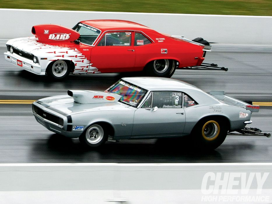 hot rod rods drag race racing chevrolet camaro nova       f wallpaper