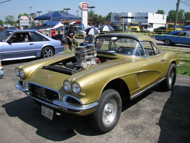 hot rod rods drag race racing retro gasser corvette d wallpaper