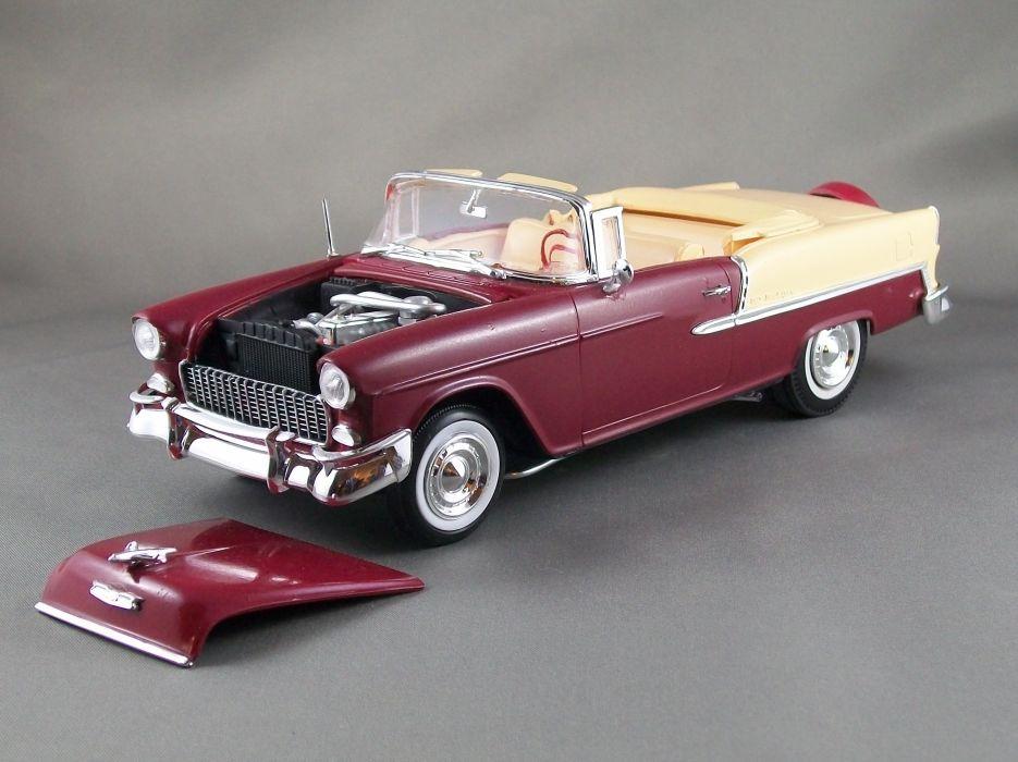 1955 Chevrolet Belair convertible retro       g_JPG wallpaper