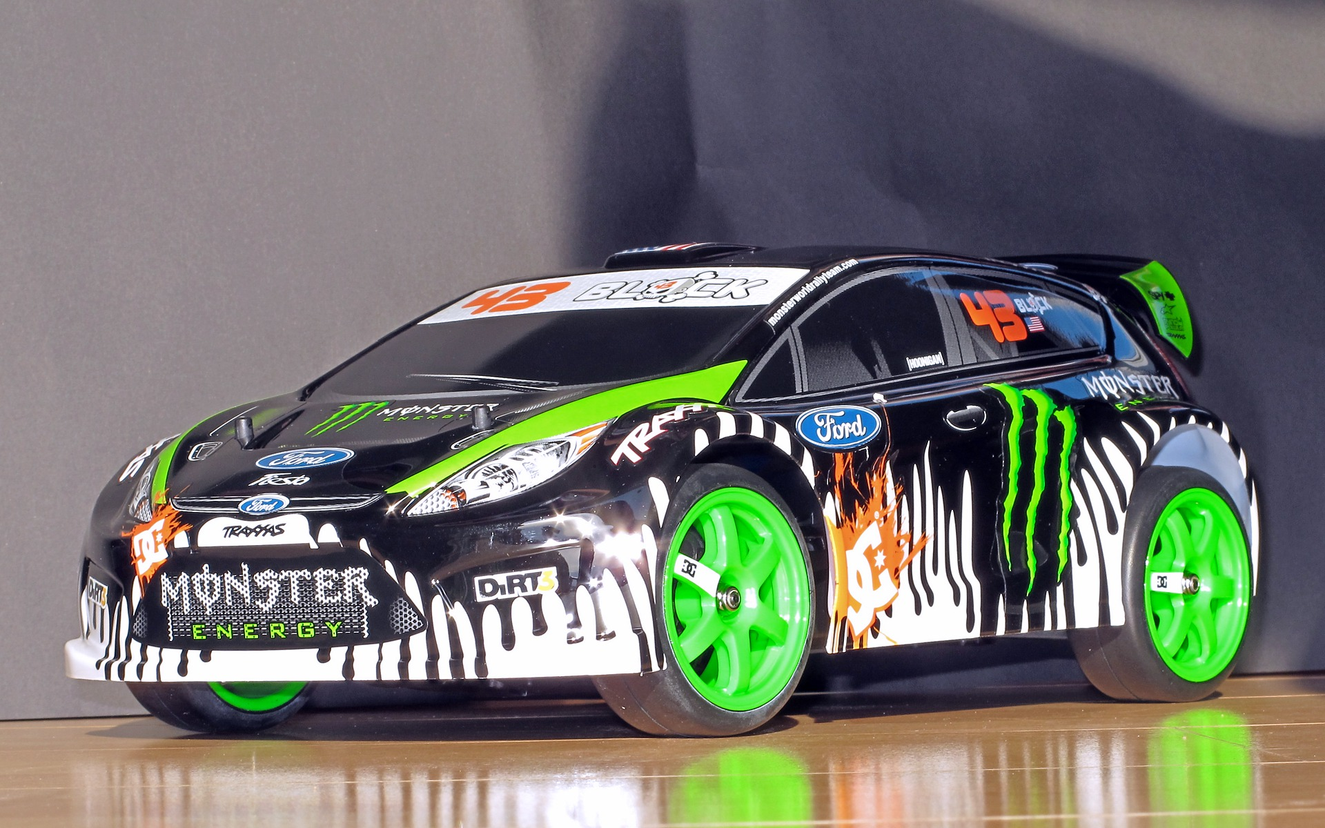 Radio Controlled Ford Fiesta Race Racing Tuning Monster K