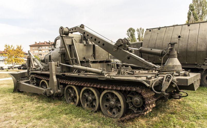 BAT-1 bulldozer with crane wallpaper