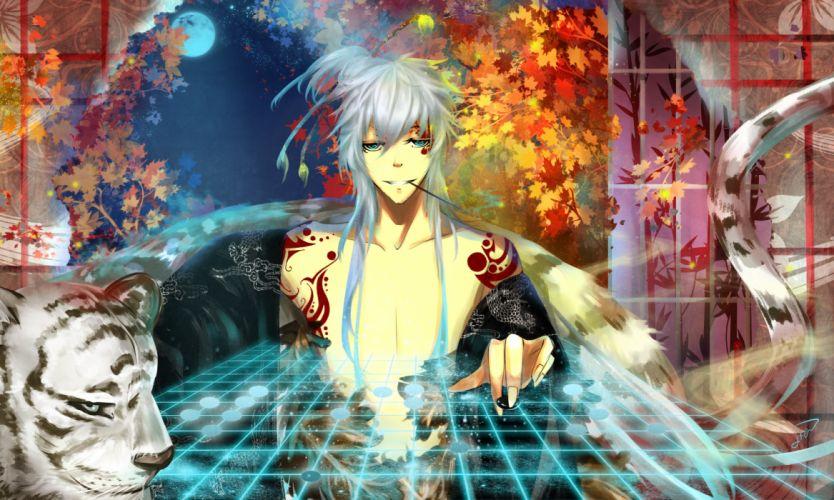 original tiger mood bokeh sci-fi autumn magic magical fantasy g wallpaper