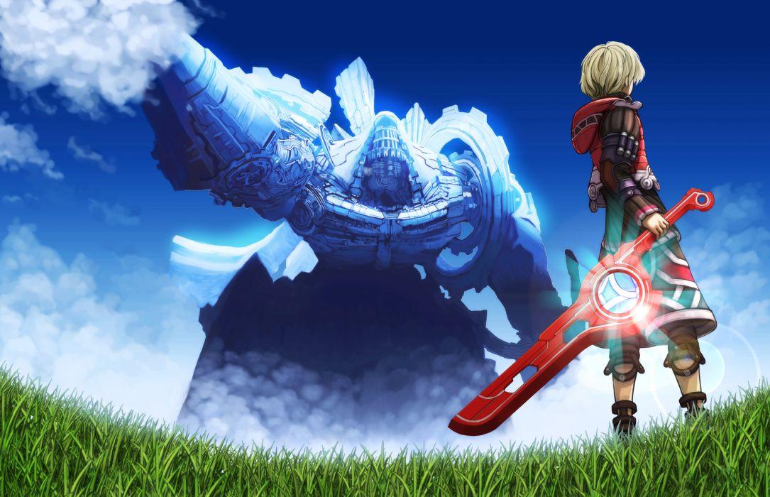 Xenoblade warrior sword       e wallpaper