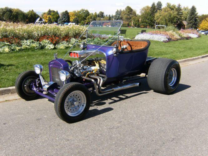 1927 Ford T-Bucket model-t retro hot rod rods engine f wallpaper