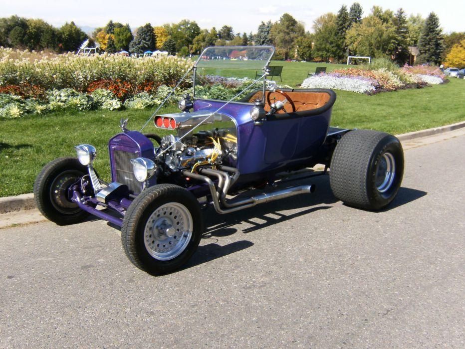 1927 Ford T-Bucket model-t retro hot rod rods engine f wallpaper ...