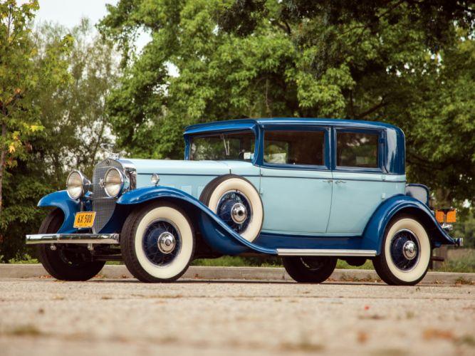 Connu 1931 Cadillac V8 355-A Town Sedan by Fisher (31252) luxury retro v  MU23