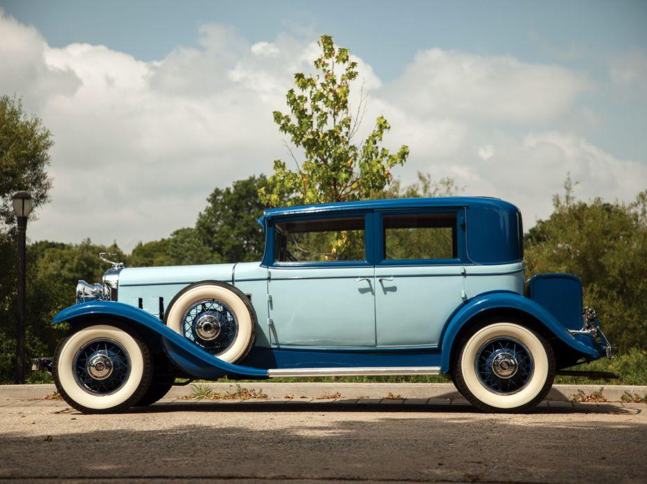 1931 Cadillac V8 355-A Town Sedan by Fisher (31252) luxury retro v-8   eg wallpaper