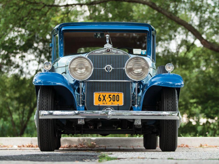 1931 Cadillac V8 355-A Town Sedan by Fisher (31252) luxury retro v-8   eq wallpaper