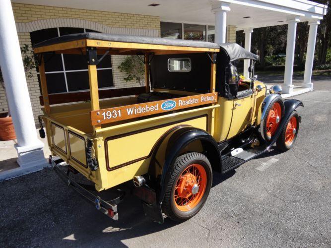 1931 FORD MODEL-A ROADSTER PICKUP retro e wallpaper