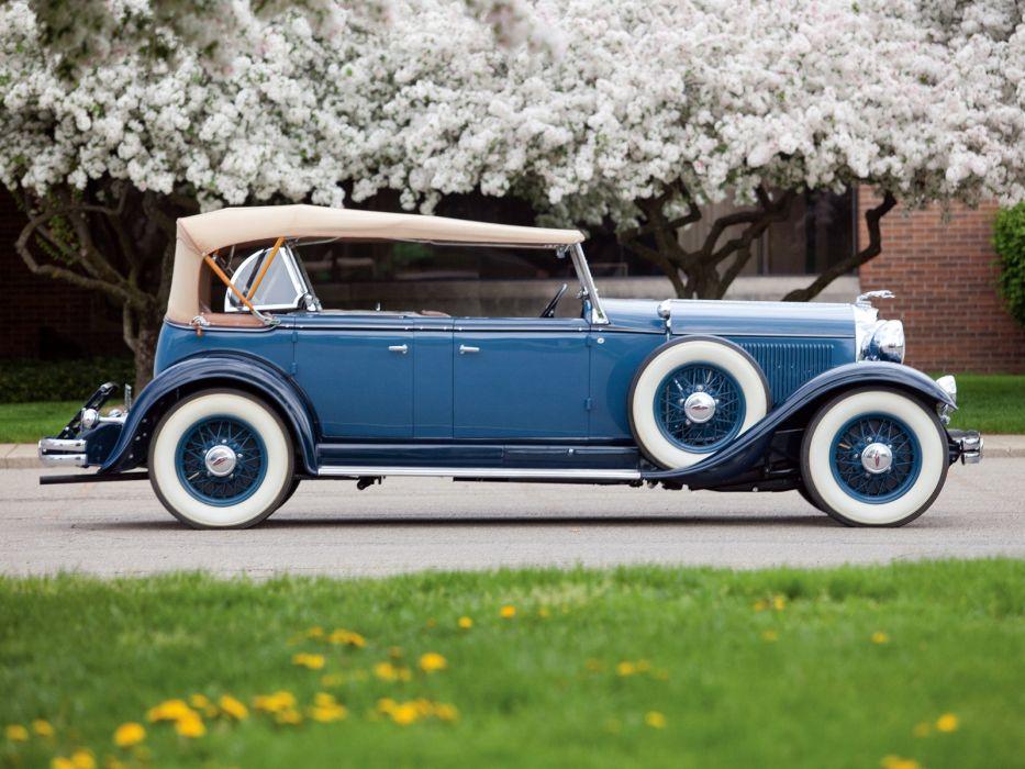 1931 Lincoln Model-K Dual Cowl Sport Phaeton (202-A) retro luxury  f wallpaper