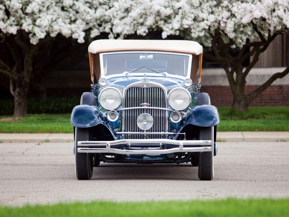 1931 Lincoln Model-K Dual Cowl Sport Phaeton (202-A) retro luxury e wallpaper