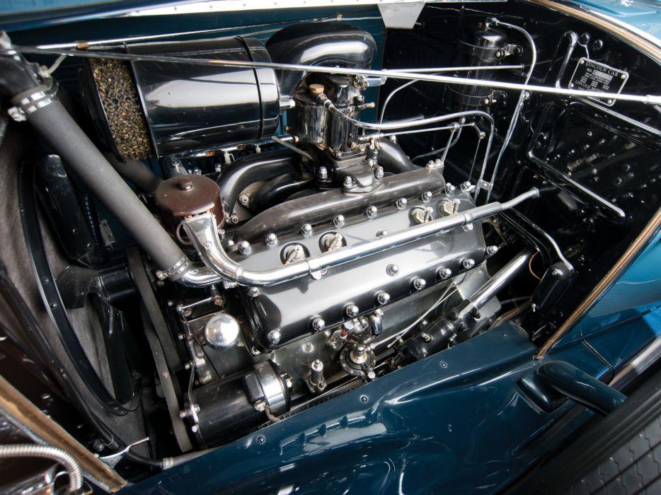 1931 Lincoln Model-K Dual Cowl Sport Phaeton (202-A) retro luxury engine    f wallpaper