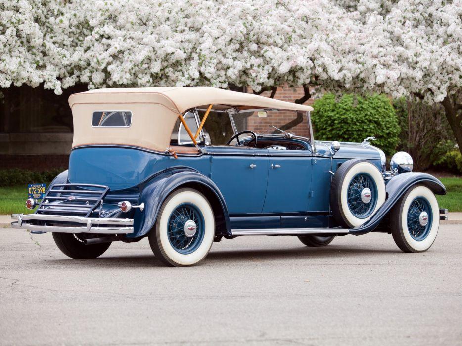 1931 Lincoln Model-K Dual Cowl Sport Phaeton (202-A) retro luxury w wallpaper
