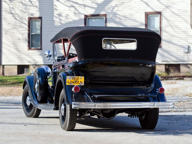 1933 Lincoln Model-KB Sport Touring (253) luxury retro g wallpaper