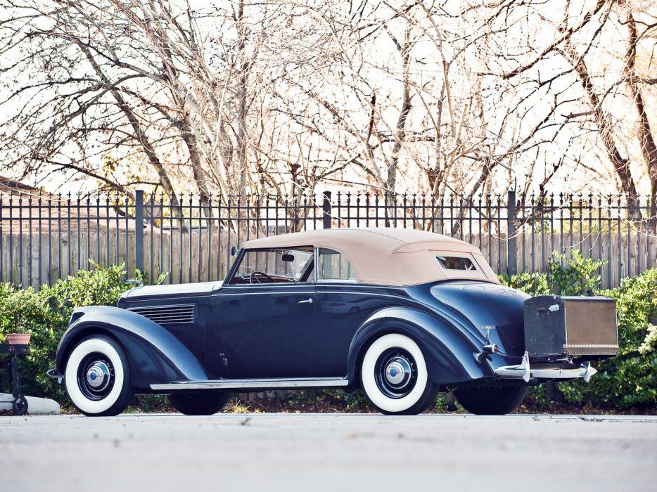 1938 Lincoln Model-K Convertible Victoria by Brunn (408) luxury retro q wallpaper