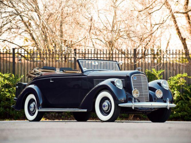 1938 Lincoln Model-K Convertible Victoria by Brunn (408) luxury retro g wallpaper