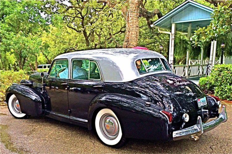 1940 Cadillac luxury retro f wallpaper