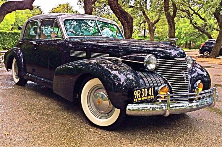 1940 Cadillac luxury retro g wallpaper