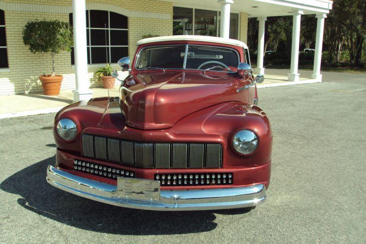 1947 Mercury California Convertible Barris Custom retro g wallpaper