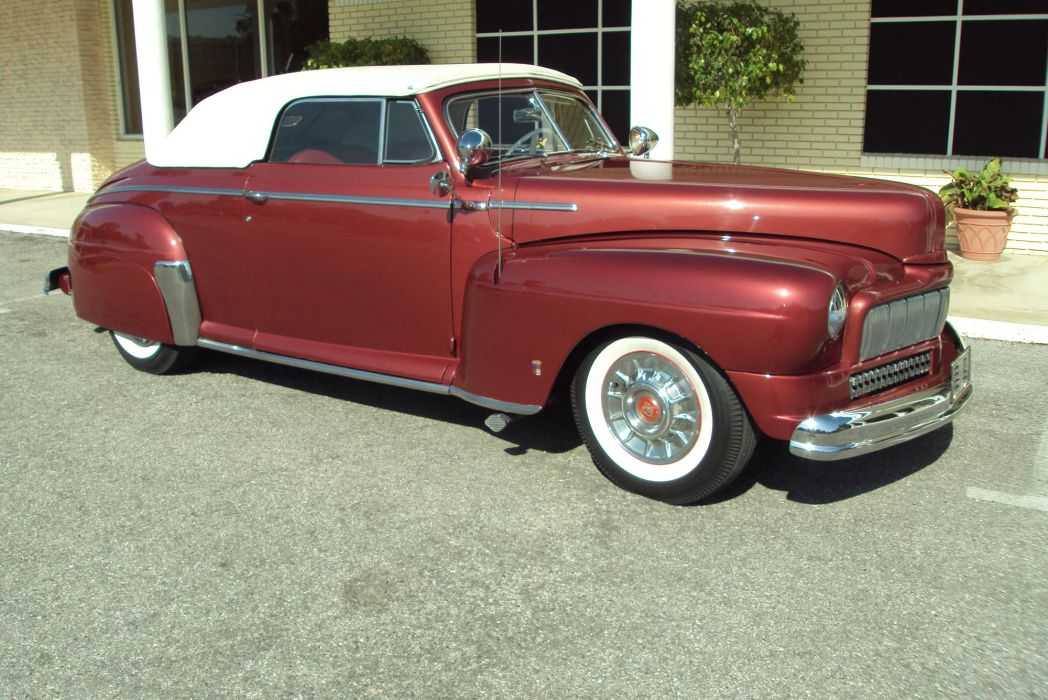 1947 Mercury California Convertible Barris Custom retro   te wallpaper