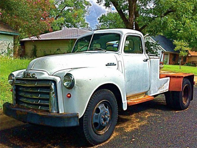 1950 GMC Truck pickup retro d wallpaper