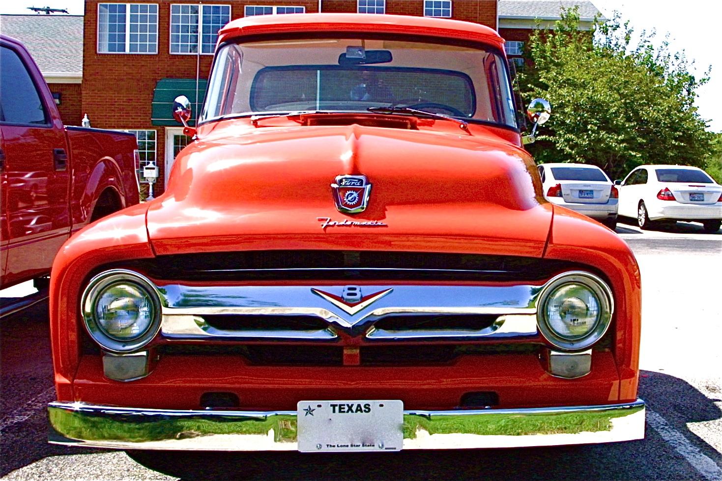 1956 Ford F100 pickup custom retro f wallpaper | 1469x979 | 176225 ...