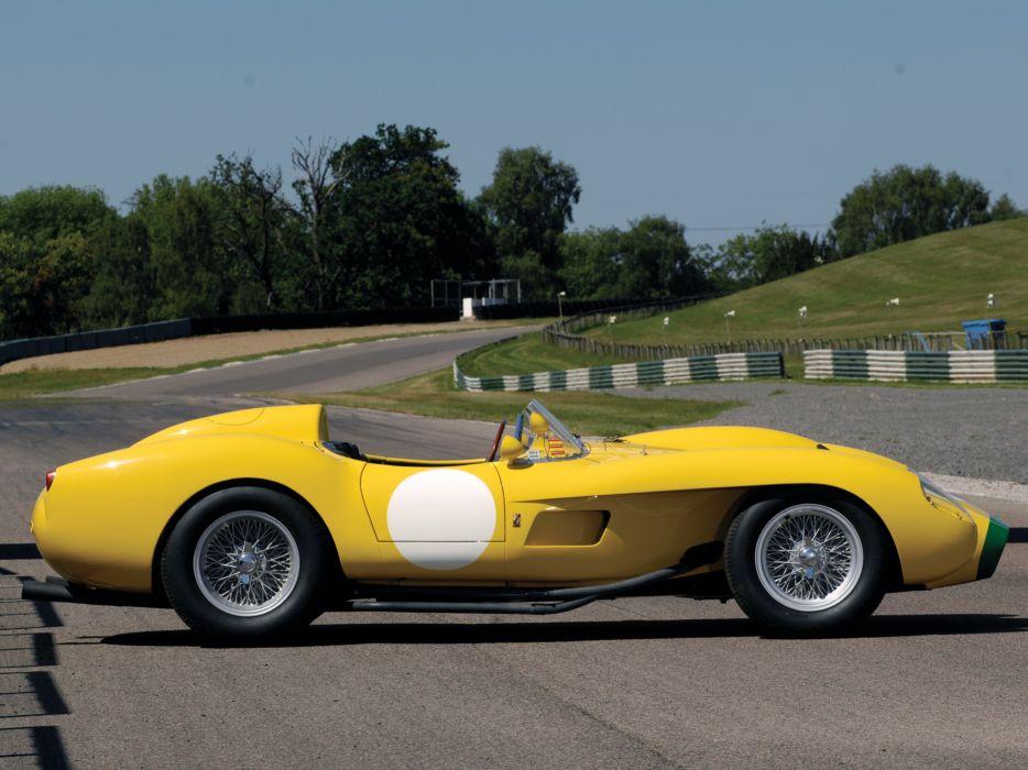 1957 Ferrari 250 Testa Rossa Scaglietti Spyder supercar retro race racing    g wallpaper