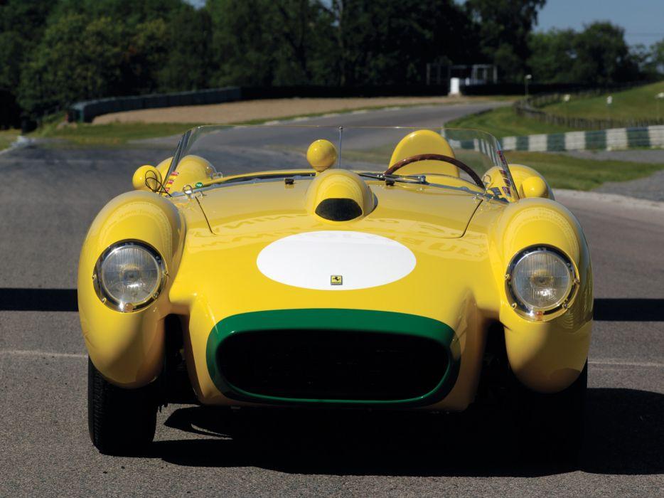 1957 Ferrari 250 Testa Rossa Scaglietti Spyder supercar retro race racing   f wallpaper