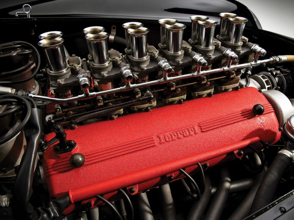 1957 Ferrari 250 Testa Rossa Scaglietti Spyder supercar retro race racing engine  g wallpaper