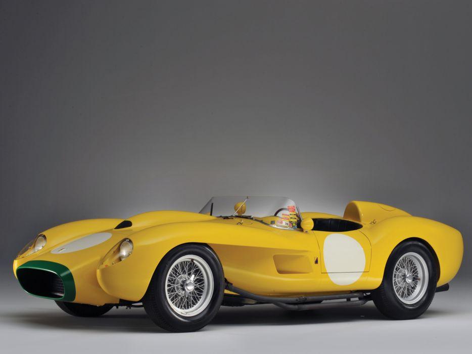 1957 Ferrari 250 Testa Rossa Scaglietti Spyder supercar retro race racing   y wallpaper
