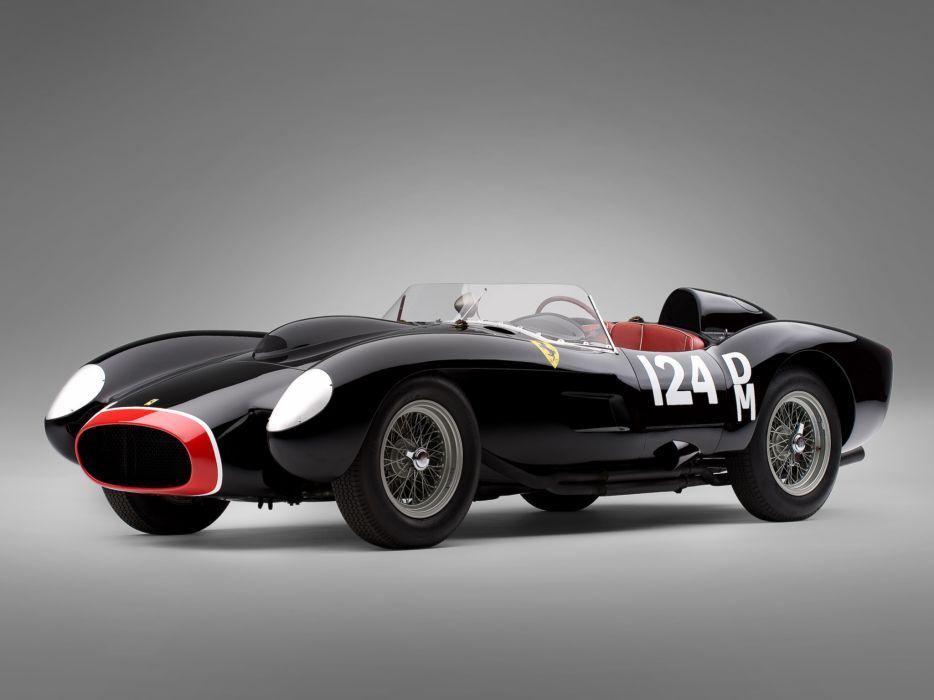 1957 Ferrari 250 Testa Rossa Scaglietti Spyder supercar retro race racing   rw wallpaper
