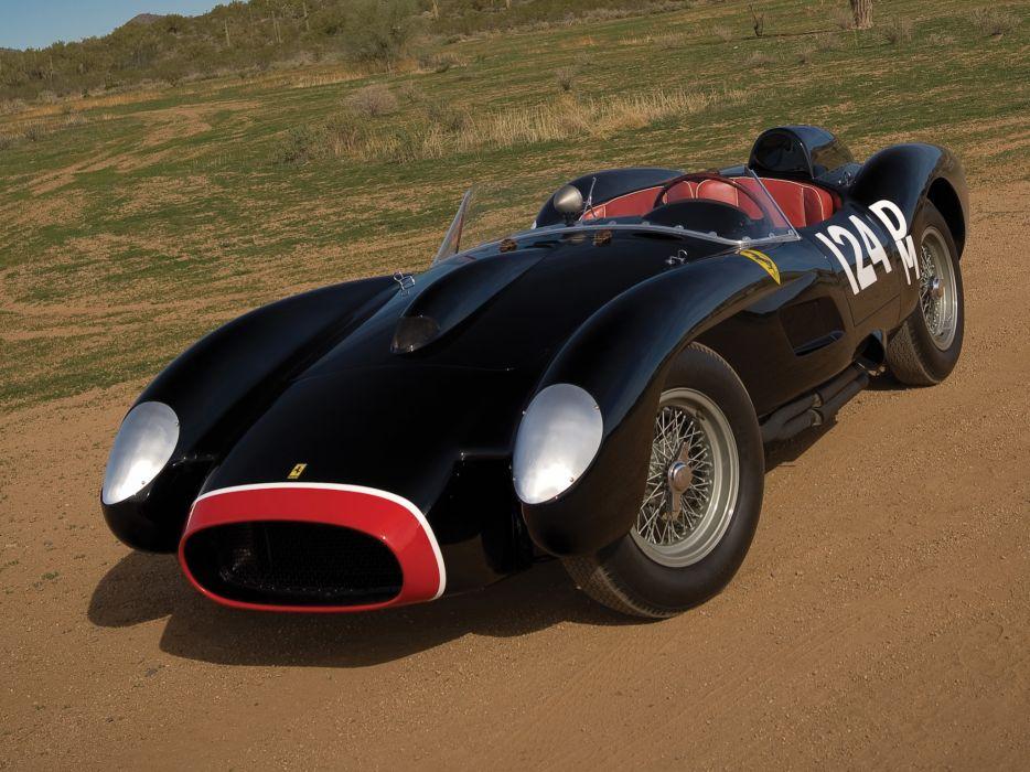 1957 Ferrari 250 Testa Rossa Scaglietti Spyder supercar retro race racing  d wallpaper