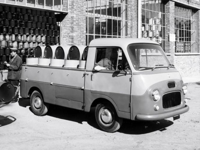 1957 Fiat 1100 T Pickup retro h wallpaper