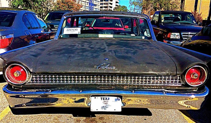 1961 Ford Galaxie Sedan classic f wallpaper