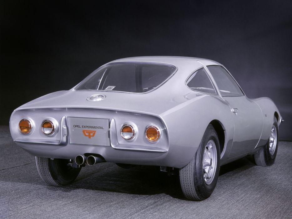 1965 Opel Experimental GT classic g-t  f wallpaper
