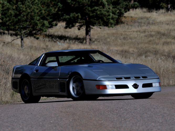 1988 Callaway C4 Twin Turbo Sledgehammer Corvette (B2K) chevrolet supercar c-4 f wallpaper